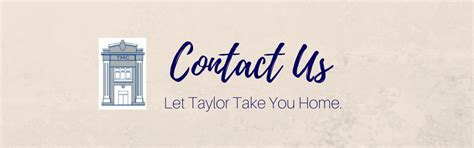 Taylor Management   Contact Us
