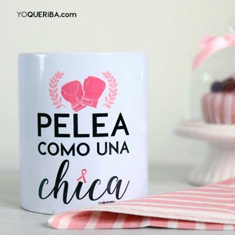 Taza  Pelea como una chica  | Cancer de mamas | Tazas ...