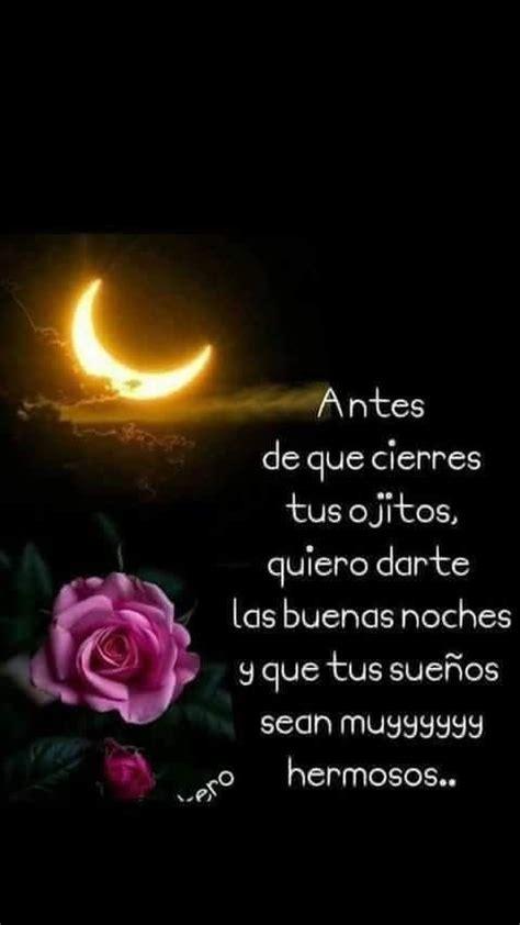 Te AMO   buenas noches   Frases de buenas noches amor ...