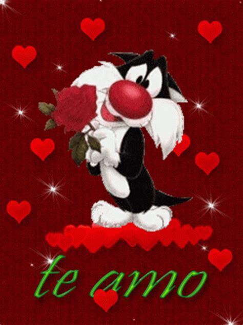 Te amo Silvestre con rosa   Imagenes y Carteles