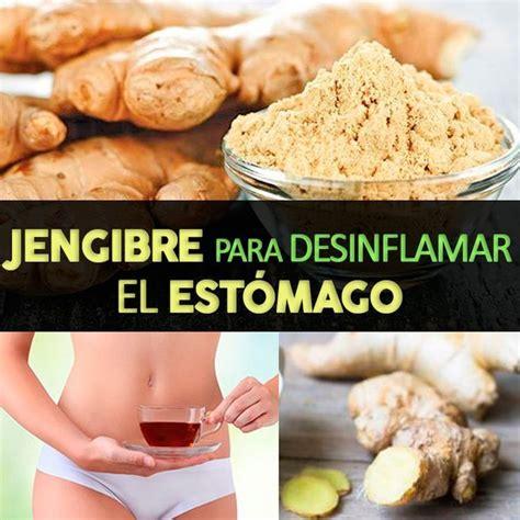 Té De Jengibre Para Desinflamar El Estómago y Eliminar ...
