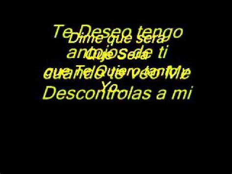 TE DESEO FRANK Y EL SANTO LETRA   YouTube