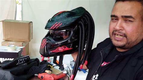 Te mostramos nuestros cascos depredador para moto!! hechos ...