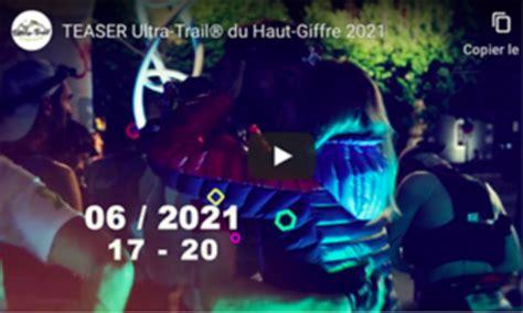 Teaser 2021   Ultra trail du Haut Giffre   Ultra Trail ...