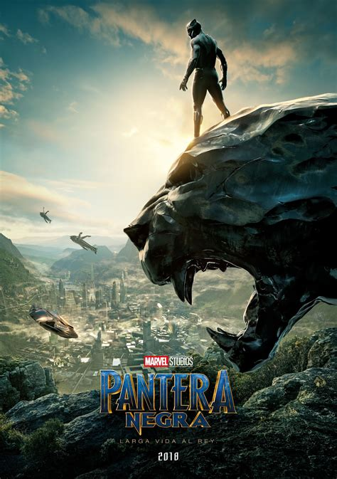 Teaser Poster Latino de PANTERA NEGRA ~ JPosters