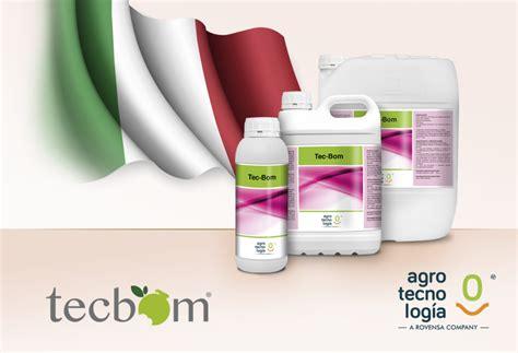 TEC BOM obtiene el registro fitosanitario en Italia ...