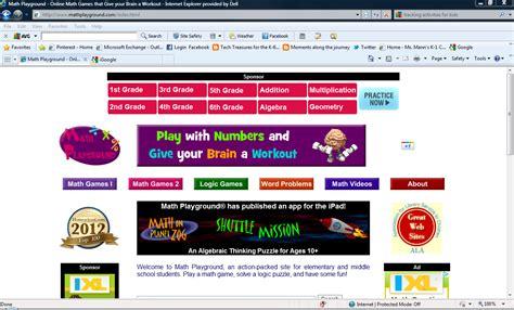 Tech Treasures : Math Sites