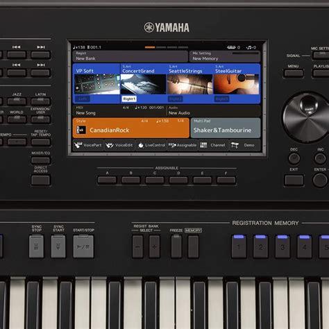 Teclado Arranjador Yamaha PSR SX700 61 Teclas Preto na ...