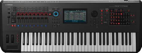 Teclado Yamaha Sintetizador Montage 6 Loja Oficial Yamaha ...