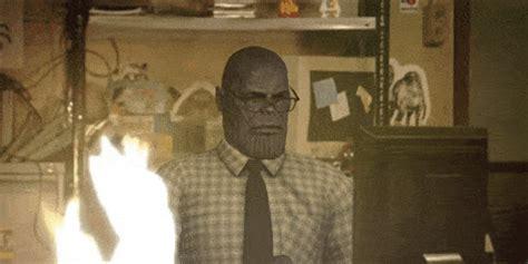 Teclea Thanos en Google, pincha en el guantelete del ...