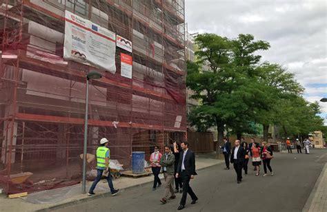Técnicos europeos visitan las obras de rehabilitación ...
