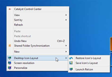 Tecnología habitual: Restaurar configuración de iconos en ...