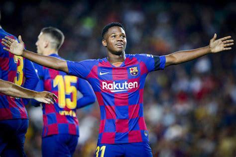 Teenager Ansu Fati lights up Barca, Benzema brilliance ...