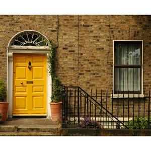 Tela Canvas Yellow Door 50x40cm Inspire | Leroy Merlin