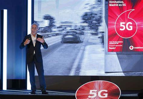 Telefonía móvil: Vodafone lanzará la primera red 5G de ...