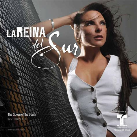 Telenovelas y Revista: La Reina del Sur Folleto