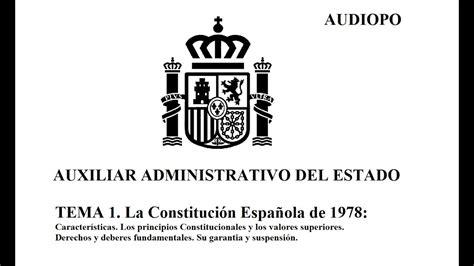 Tema 1 La Constitución Española de 1978   YouTube