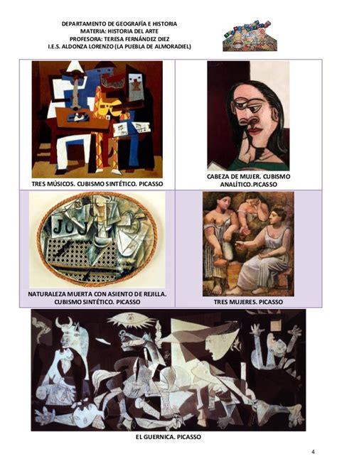 Tema 44 picasso y el cubismo.