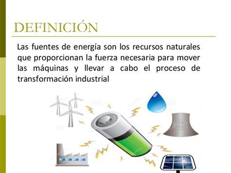 Tema 7 2 las fuentes de energía