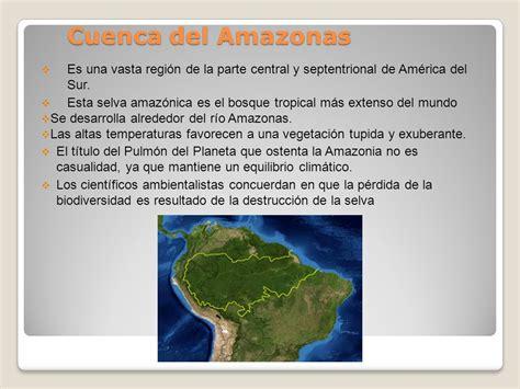 Tema: Cuenca del Amazonas   ppt descargar