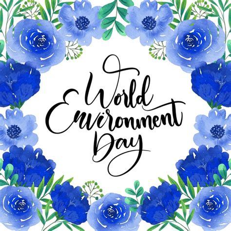 Tema del día mundial del medio ambiente   Vector Gratis