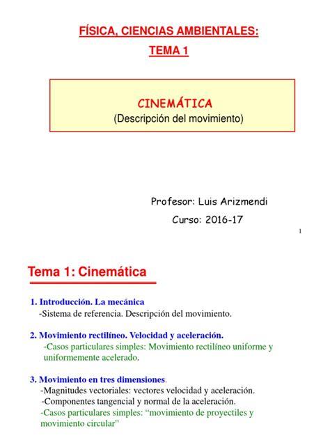 Tema física MRU MRUA, MCU y caída libre | Aceleración ...
