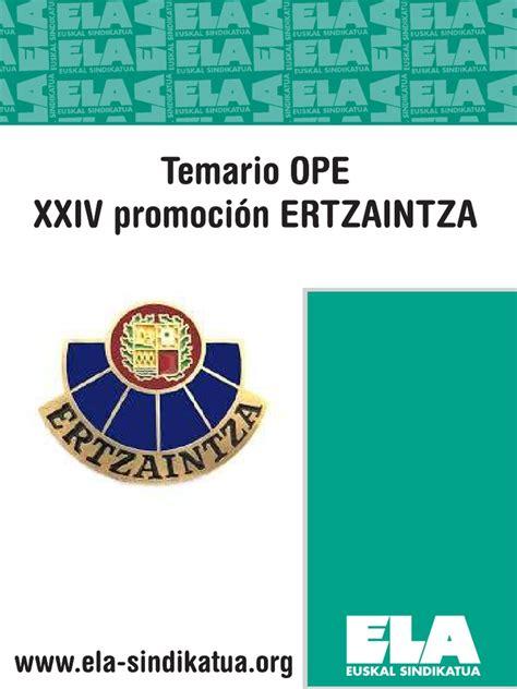 Temario Ertzaintza Xxiv   Convenio europeo de derechos ...