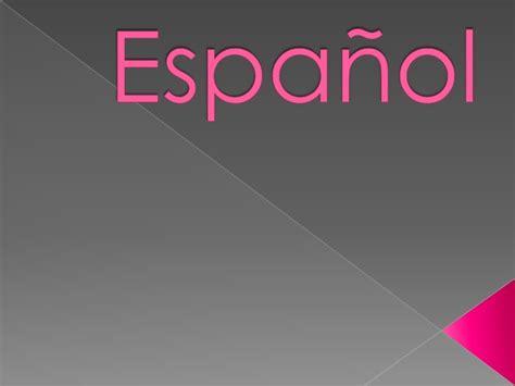 temas de español