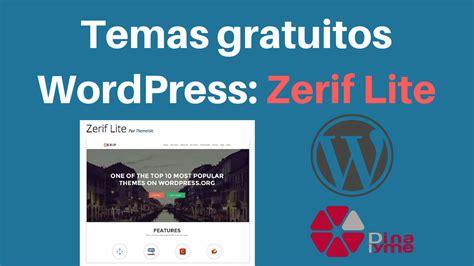 Temas Gratuitos WordPress: Zerif lite   Dinapyme ...