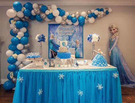 Temática fiesta infantil niña Frozen, Ideas para fiestas ...
