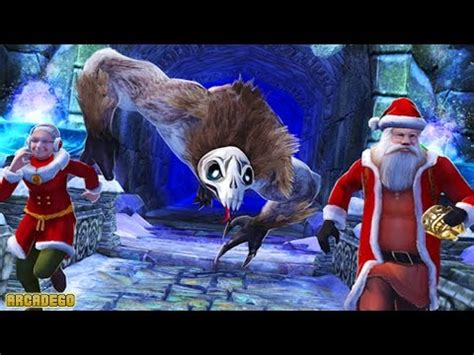 Temple Run 2 Holiday Update New Characters Santa Claus and ...