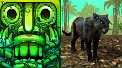 Temple Run 2 Lost Jungle VS Wild Panther Sim 3D Android ...