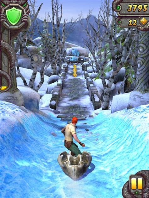 Temple Run 2 passe à l heure d hiver dans sa dernière mise ...