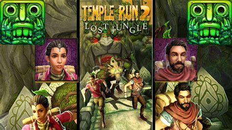 Temple Run 2 Unlocked New Characters Rahi Raaja and Nidhi ...