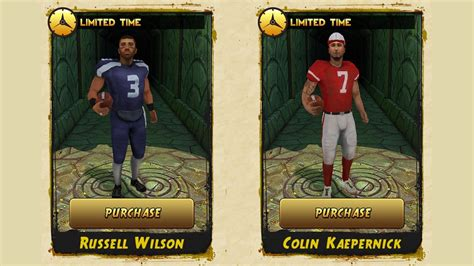 Temple Run 2 Will Have Top NFL Players as Characters   IGN