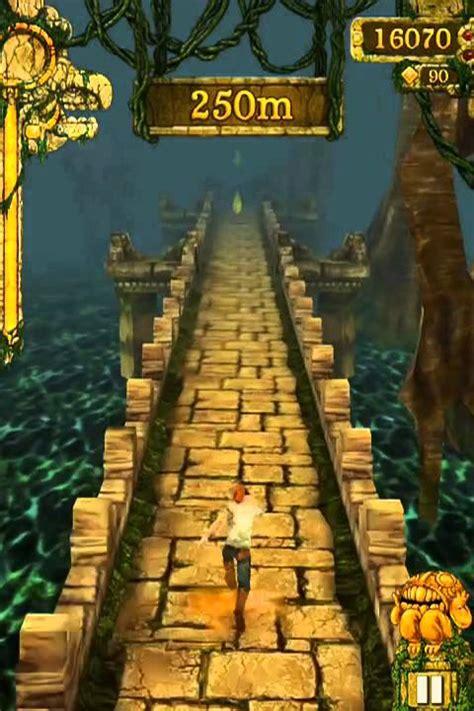 Temple Run ios iphone gameplay   YouTube
