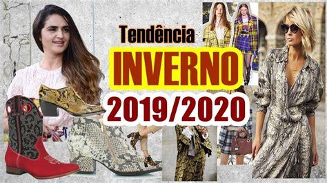 Tendência INVERNO 2019/2020   YouTube