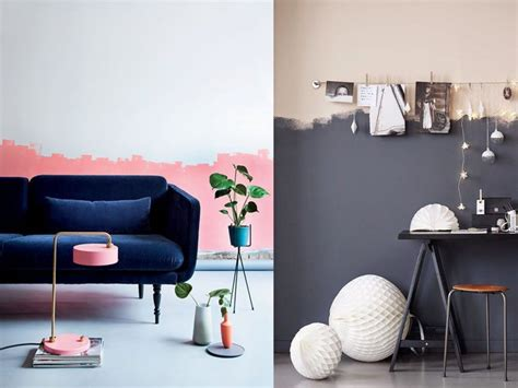 Tendencias 2017: paredes de dos colores