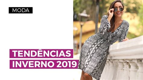 Tendências de Moda do Inverno 2019 | Camila Gaio   YouTube