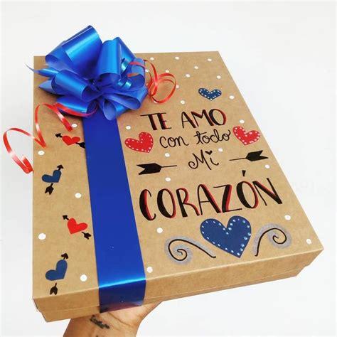 Tenemos para ti cajas decoradas ️ tu eliges la frase que ...