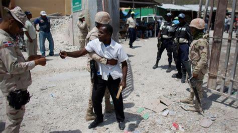 Tensiones entre Haití y República Dominicana   YouTube