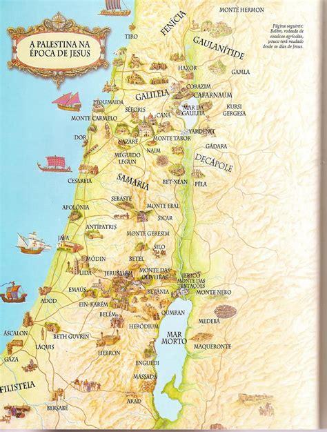 Teologia Total: Mapas de Israel