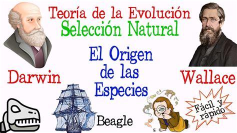 Teoría de la Evolución Darwin y Wallace [Fácil y Rápido ...
