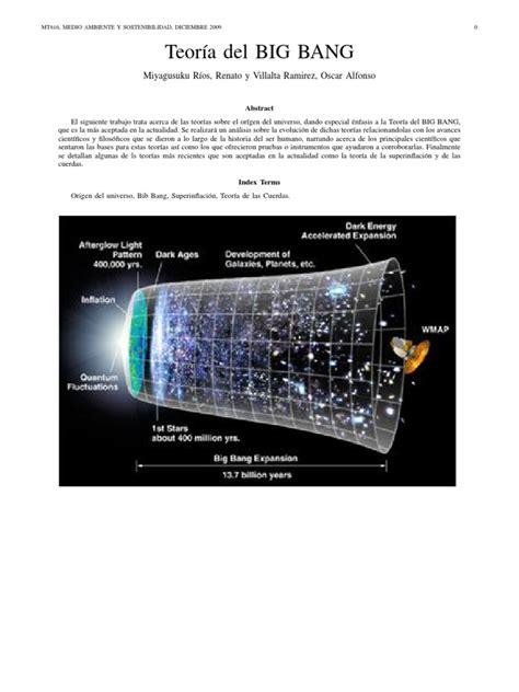 Teoría del Big Bang  String Theory, Big Bang Theory ...