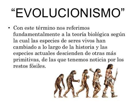 Teoria del evolucionismo