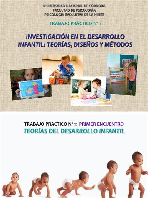 TEORÍAS DEL DESARROLLO INFANTIL.pdf   Evolución ...