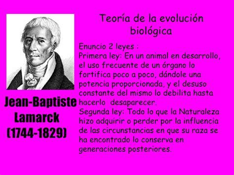 Teorías fijistas y evolucionistas