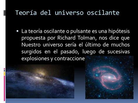 Teorias Origen del Universo.