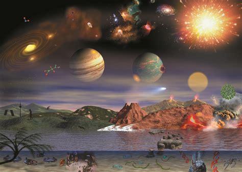 Teorías sobre el origen de la vida: Resumen   Mundo de ...
