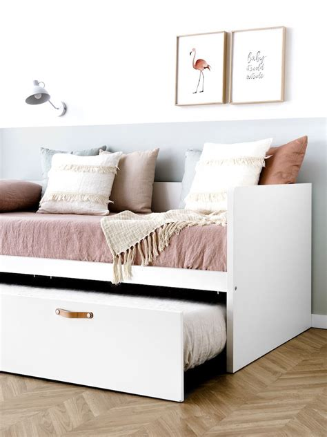 Tera cama nido blanca   Kenay Home